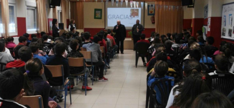 VISITA PASOTRAL CEIP Jose Fuentes 1