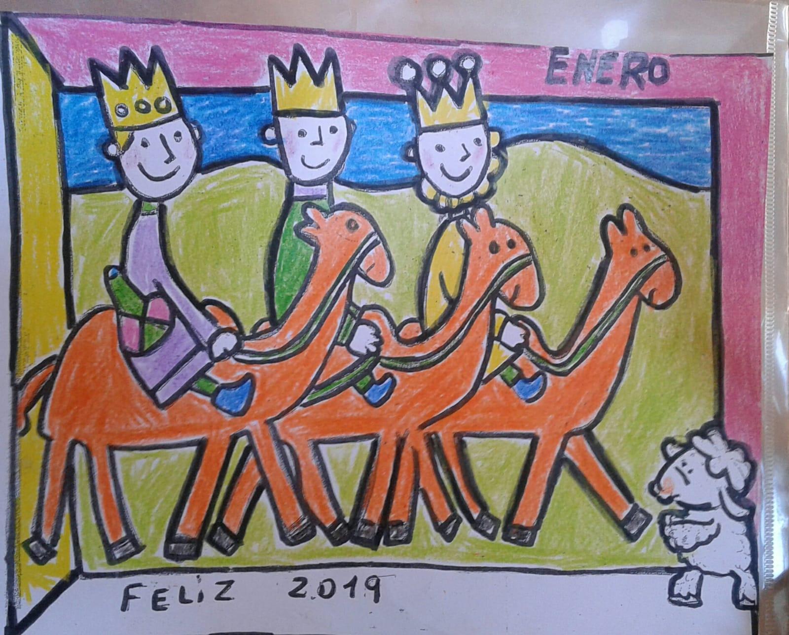 reyes dibujo