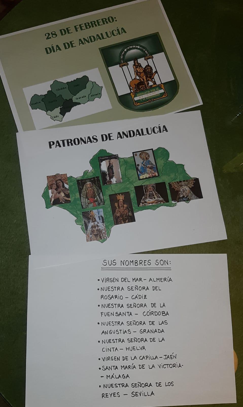 Patronas de Andalucia
