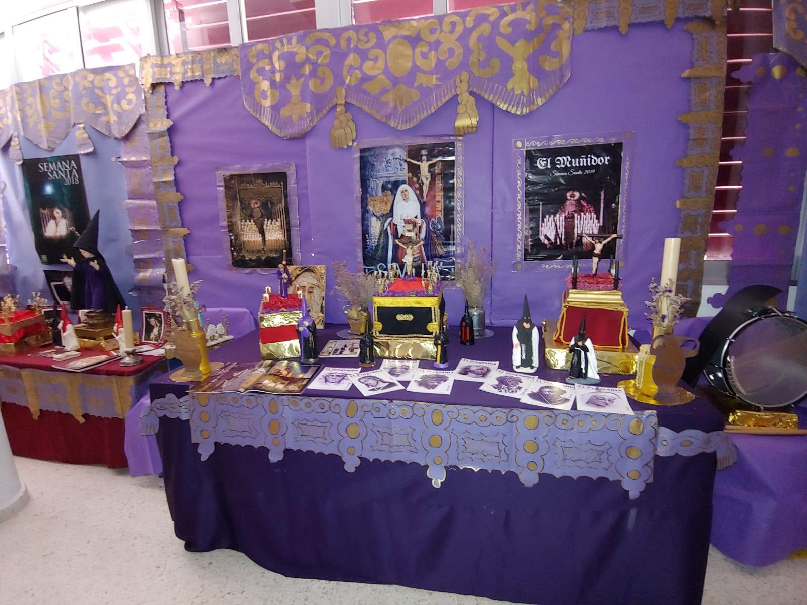 Exposicion Semana Santa Tomares 2019 1